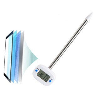 TA290 Soil Tester Thermometer Hydrometer Memory Function Digital LCD Display Temperature Humidity Meter With Probe