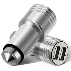3.1A Dual Port USB Car Charger Mini Universal Fast Smart Car-Charger For Apple iPhone 7 LG Samsung Xiaomi More Phone PC
