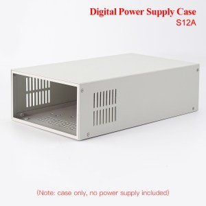 RIDEN® RD6012 RD6012W RD6018 Digital Power Supply Case S12A/S800 Only Metal Housing Shell For Voltage Converter