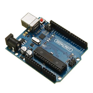 Geekcreit UNO R3 ATmega16U2 AVR Development Module Board Without USB Cable Geekcreit for Arduino - products that work with official Arduino boards