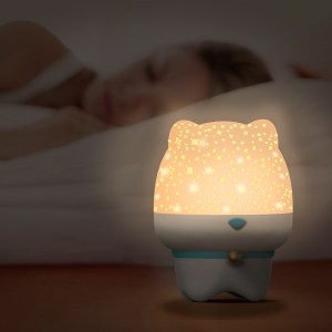Sky Snail Creative Cute Pet Starry Sky Projection Rotating Night Light To Send Lovers Children Bluetooth Audio Gifts