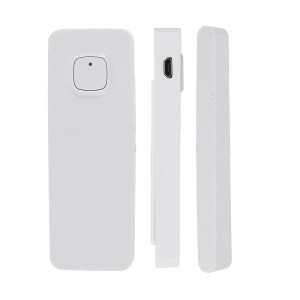 DP-WD011 USB Charging Smart Home Security Wireless Door Alarm WiFi Window Door Sensor Detector Via App Control Compatible Amazon Alexa Google Home