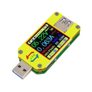 RIDEN® UM34/UM34C For APP USB 3.0 Type-C DC Voltmeter Ammeter Voltage Current Meter Battery Charge Measure Cable Resistance Tester