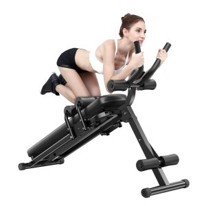 4 Levels Strength Training Abdominal Muscle Trainer Machine Exercise Home Gym Fitness Equipment
