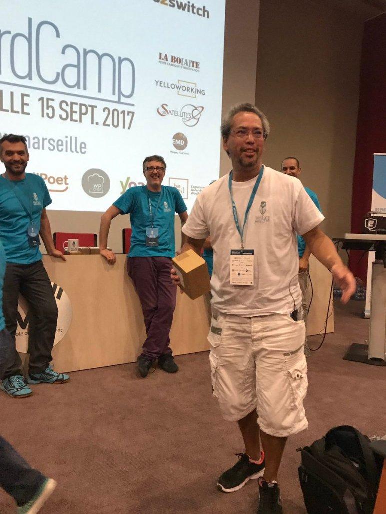 wordcamp marseille 2017 laurent JEAN