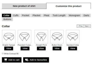 custom clothing eCommerce on-demand economy