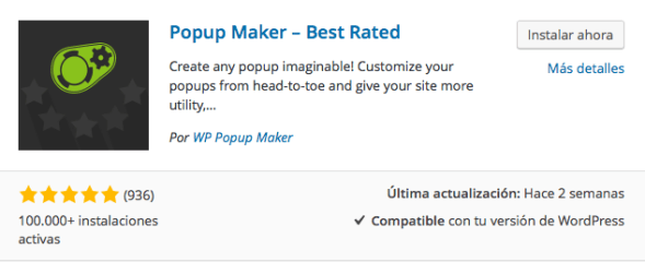 plugin popup maker