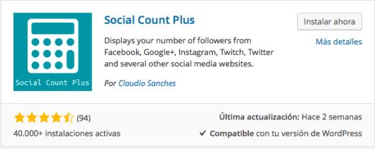 plugin social count
