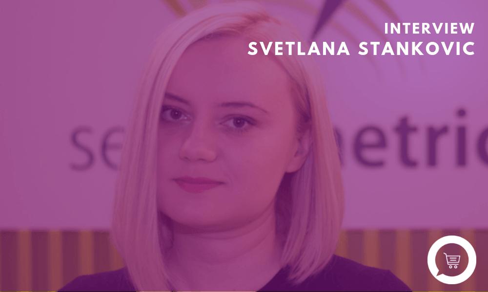 "Svetlana Stanković (Searchmetrics´Digital Strategies Group): ""Voice search – like camera search – will definitely change the way we shop."""