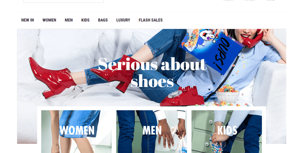 Sarenza: analysis of an online store that is running E-Commerce