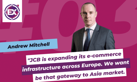 Andrew Mitchell (JCB International): « JCB is expanding its e-commerce infrastructure across Europe. We want to be that gateway to Asia market. »