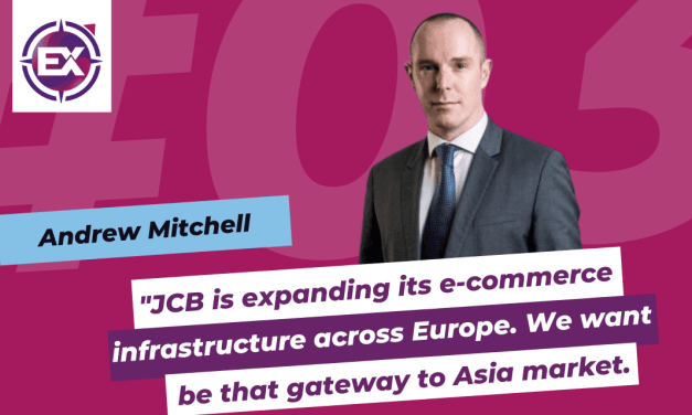 Andrew Mitchell (JCB International): «JCB is expanding its e-commerce infrastructure across Europe. We want to be that gateway to Asia market.»