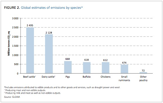 From: GLEAM. Emissions by species