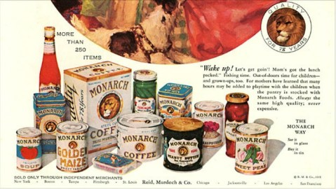 Oligopoly Canned Foods Ad 1918
