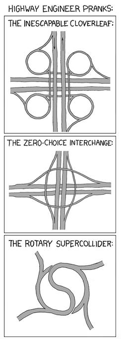 Transportation infrastructure humor