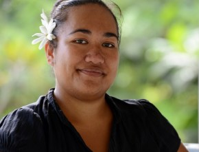 Teresa Mii Matamaki, senior environment officer for the Cook Islands' National Environment Services, says it is important to collect feedback from remote communities when creating a national policy.