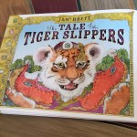 Illustrated Tiger  by Jan Brett on Book Cover