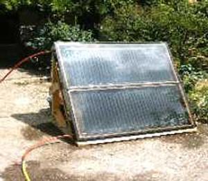 panneau solaire radiateur autoconstruction