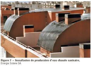 panneau solaire EPDM intégré