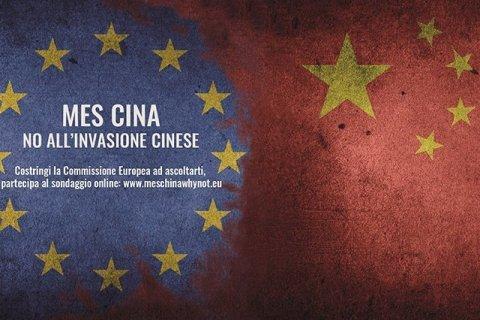 No alla concorrenza sleale cinese