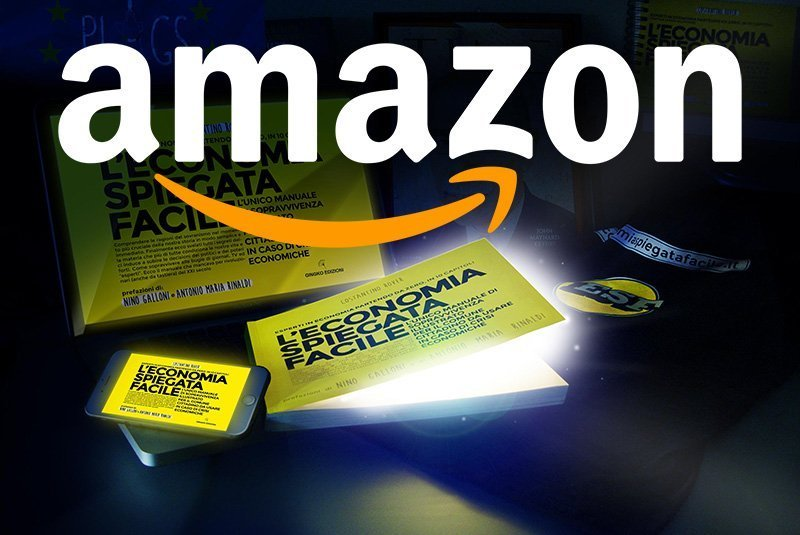 L'ebook di economia spiegata facile sbarca su Amazon