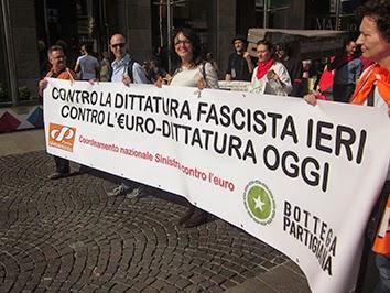 25 aprile…ma per manifestare contro l'euro
