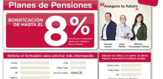 Planes de pensiones del Banco popular
