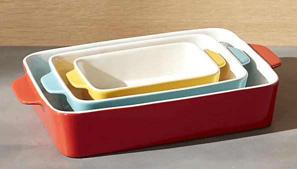 Crate and Barrel Baking Dishes