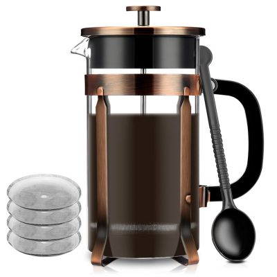 13. Famirosa French Coffee Press Maker