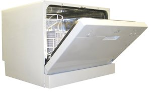 7. SPT Countertop Dishwasher, White