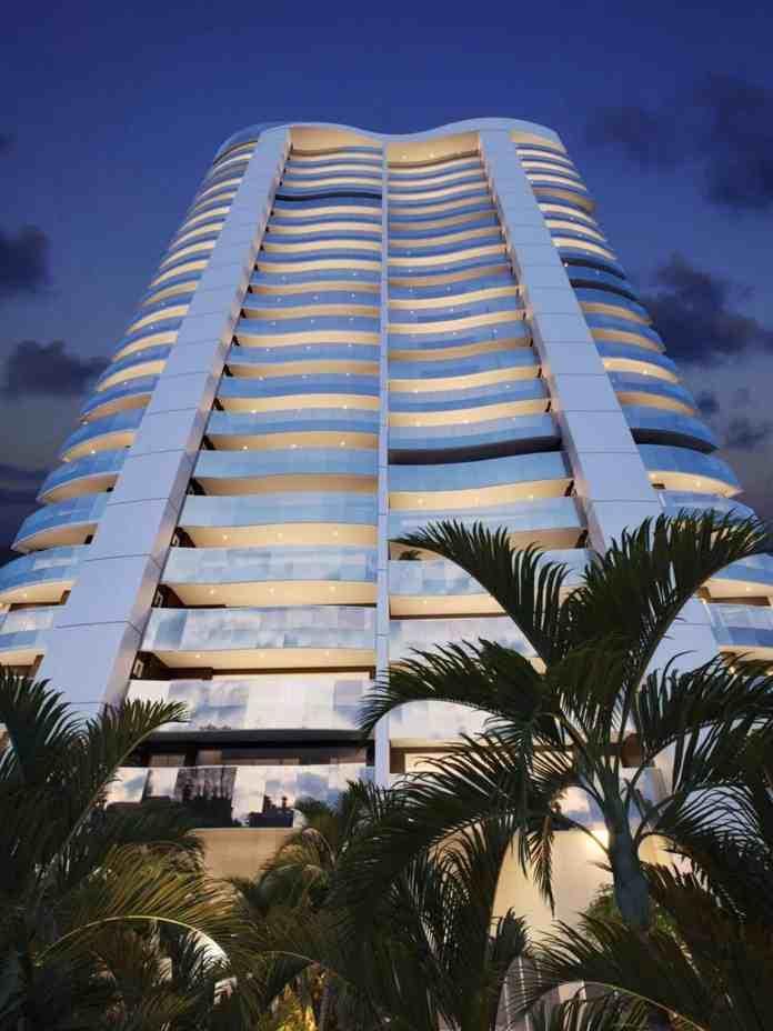 Empreendimento com apartamentos de 218 e 224 m², nas esquinas das ruas Carolina Sucupira e Coronel Jucá.