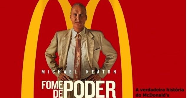 A história traz detalhes de tudo que aconteceu para que o McDonald's se tornasse a primeira grande cadeia de fast food em escala mundial.