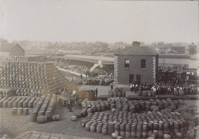 Cask Yard St. James' Gate Brewery 1906 - 1913
