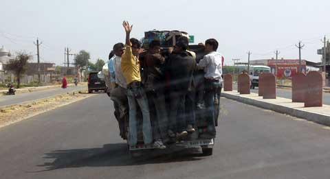 """Индийское такси """"тук-тук"""" март 2009 г."""