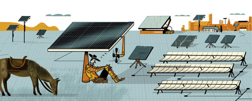 The rise of solar energy, in one form or another