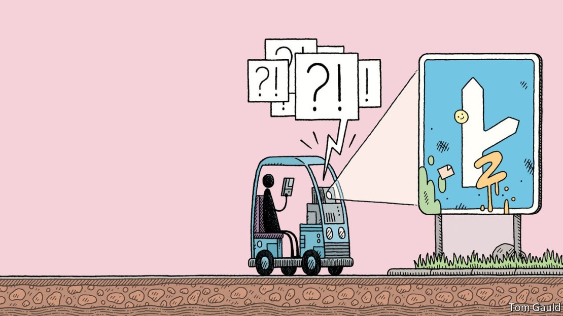 Driverless cars show the limits of today's AI