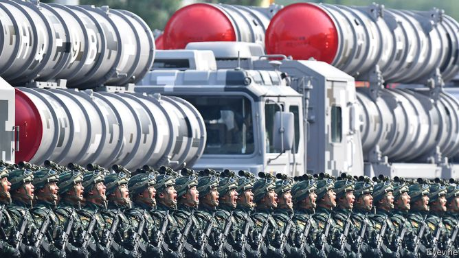 Warheads up - China's nuclear arsenal was strikingly modest, but that is changing | China | The Economist