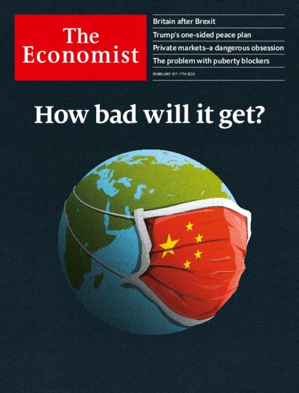 Resultado de imagem para economist 2020 cover corona