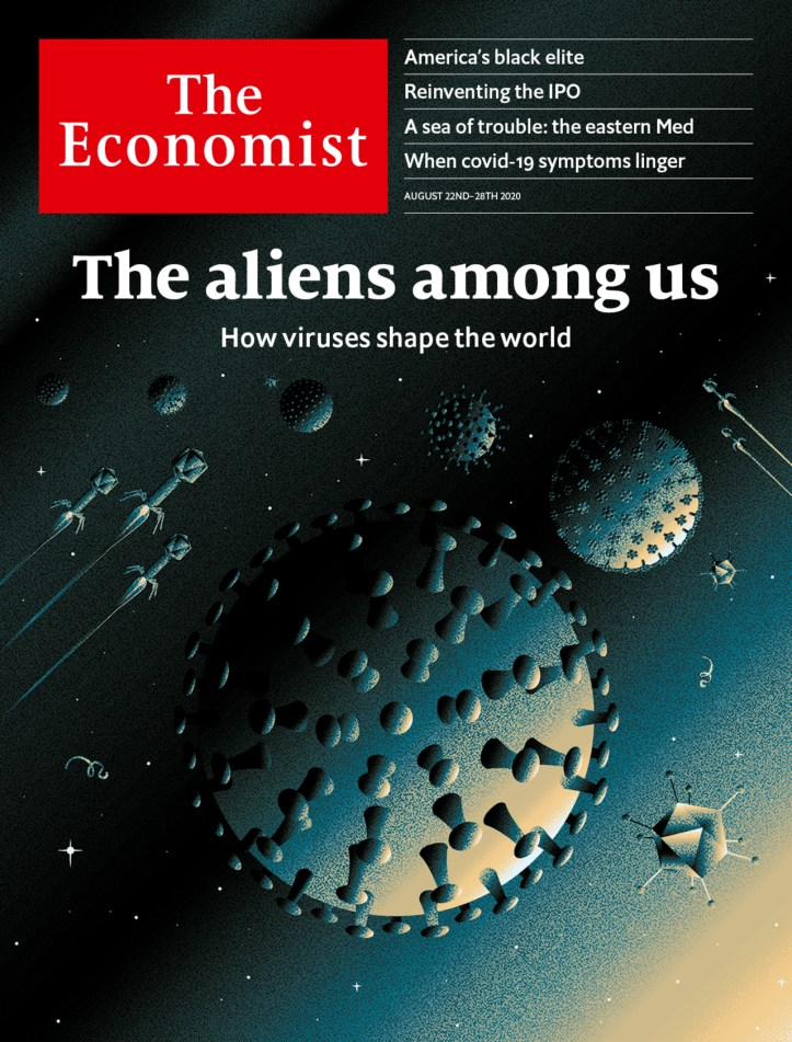 The aliens among us: How viruses shape the world | Aug 22nd 2020 | The  Economist