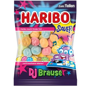 German Haribo Sauer DJ Brause (Sour Gummies)