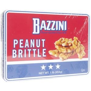 Bazzini Peanut Brittle - 1 Pound Gift Tin
