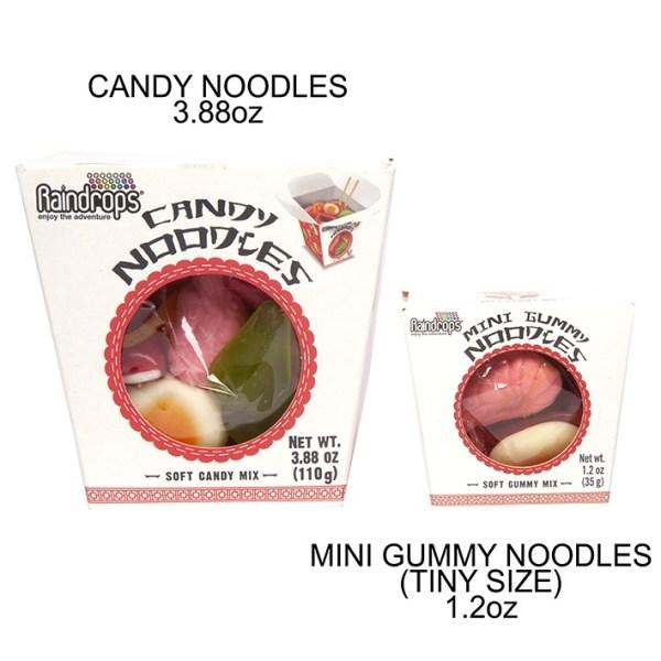 Raindrops Noodle Comparison