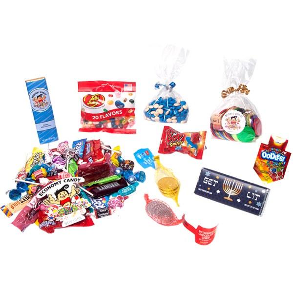 Hanukkah CandyCare Pack - 1 Night