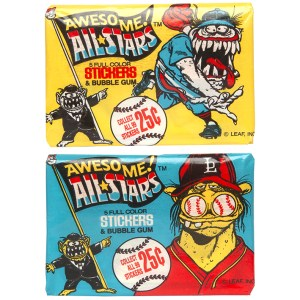 Leaf Inc. Awesome! All Stars Stickers & Bubble Gum