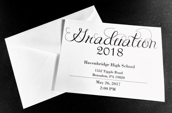 Pre Printed Invitations