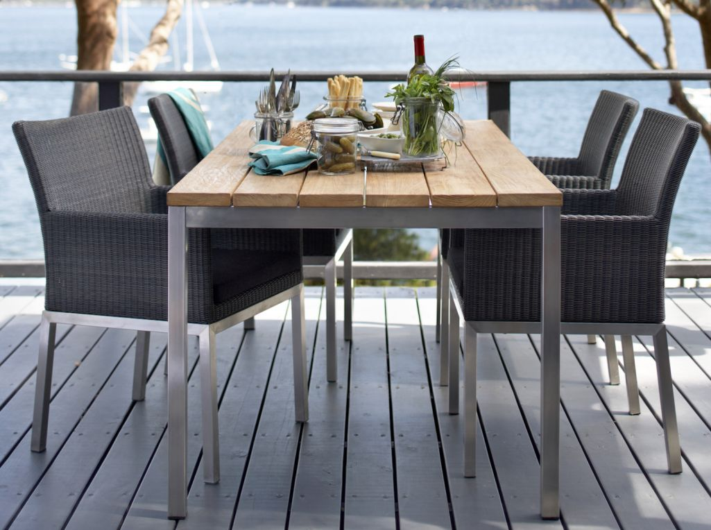 caring for stainless steel outdoor
