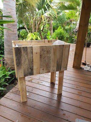 Kit Jardinière JardiPAL en bois de palettes