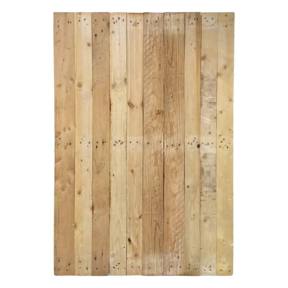 Panneau décoratif d' EcoPAL en bois de palette