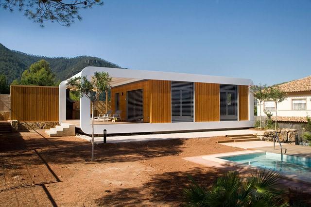 maison prefabriquee ecologique