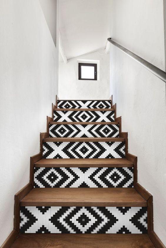 deco escalier rajeunir sans trop